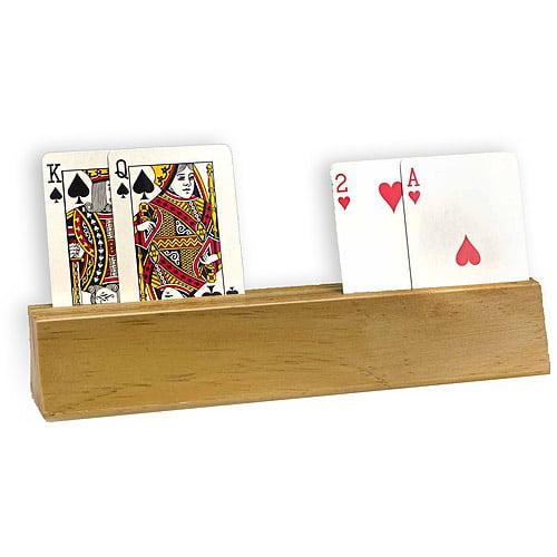Sterling Games Wooden Card Holder