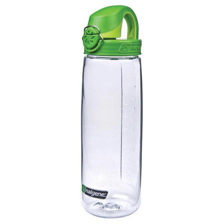 Nalgene On The Fly Clear With Green Cap 341863 Walmart Com