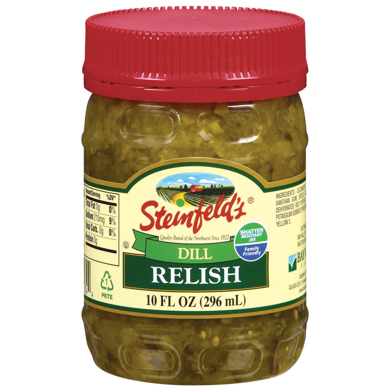 Steinfeld's Dill Pickle Relish, 10 oz
