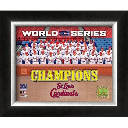 2004 World Series Champion Picture (2006 - Cardinals World Series Champions Team Photo Framed Photographic Print Wall)