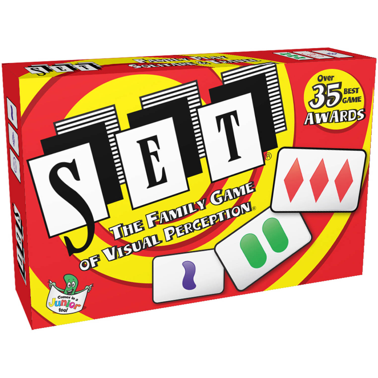 SET Card Game: The Family Game of Visual Perception