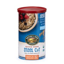 Oatmeal: Nature's Path Quick Cook Steel Cut