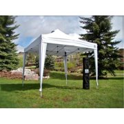 Undercover UC-3P10W 10 x 10 ft. UC-3 Super LightWeight Instant Canopy 1 Person Setup