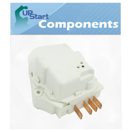 215846604 Refrigerator Defrost Timer Replacement for Frigidaire FFHT1725PS4 Refrigerator - Compatible with 241809401, 241809402 Defrost Timer