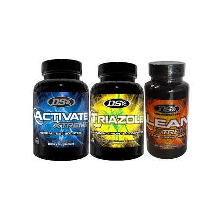 DRIVEN SPORTS Activate Xtreme Triazole y Lean Combo Pack de 3 Productos