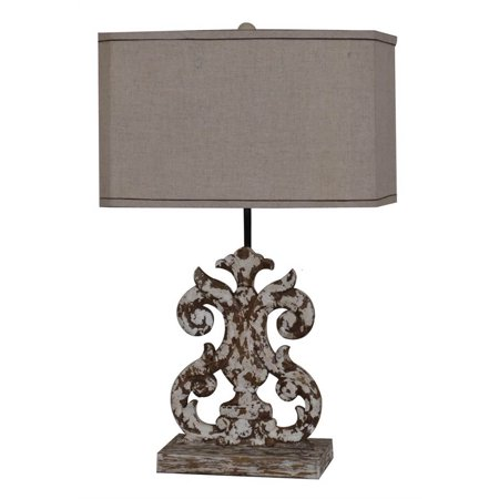 Crestview Lewiston Table Lamp In Resin Finish CVAVP007 ()