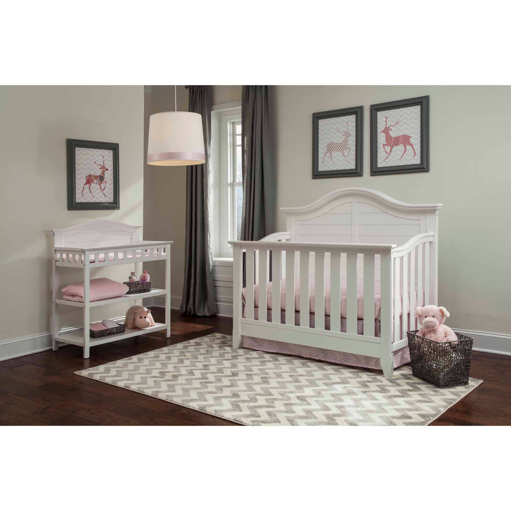 Thomasville Kids Southern Dunes Lifestyle 4 In 1 Convertible Crib White Com