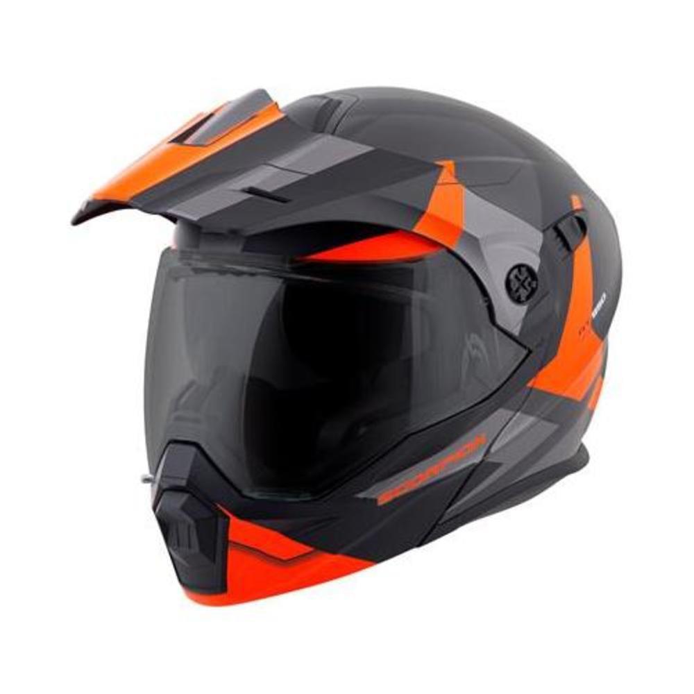 Scorpion EXO-AT950 Neocon Snow Helmet with Dual Lens Shield (Orange, Large)