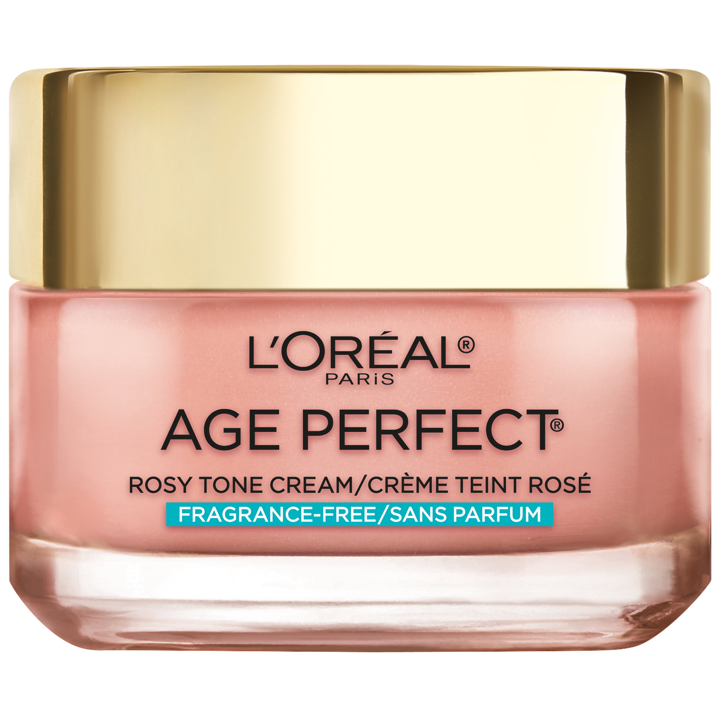 L'Oreal Paris Age Perfect Rosy Tone Fragrance Free Face Moisturizer, 1.7 oz.