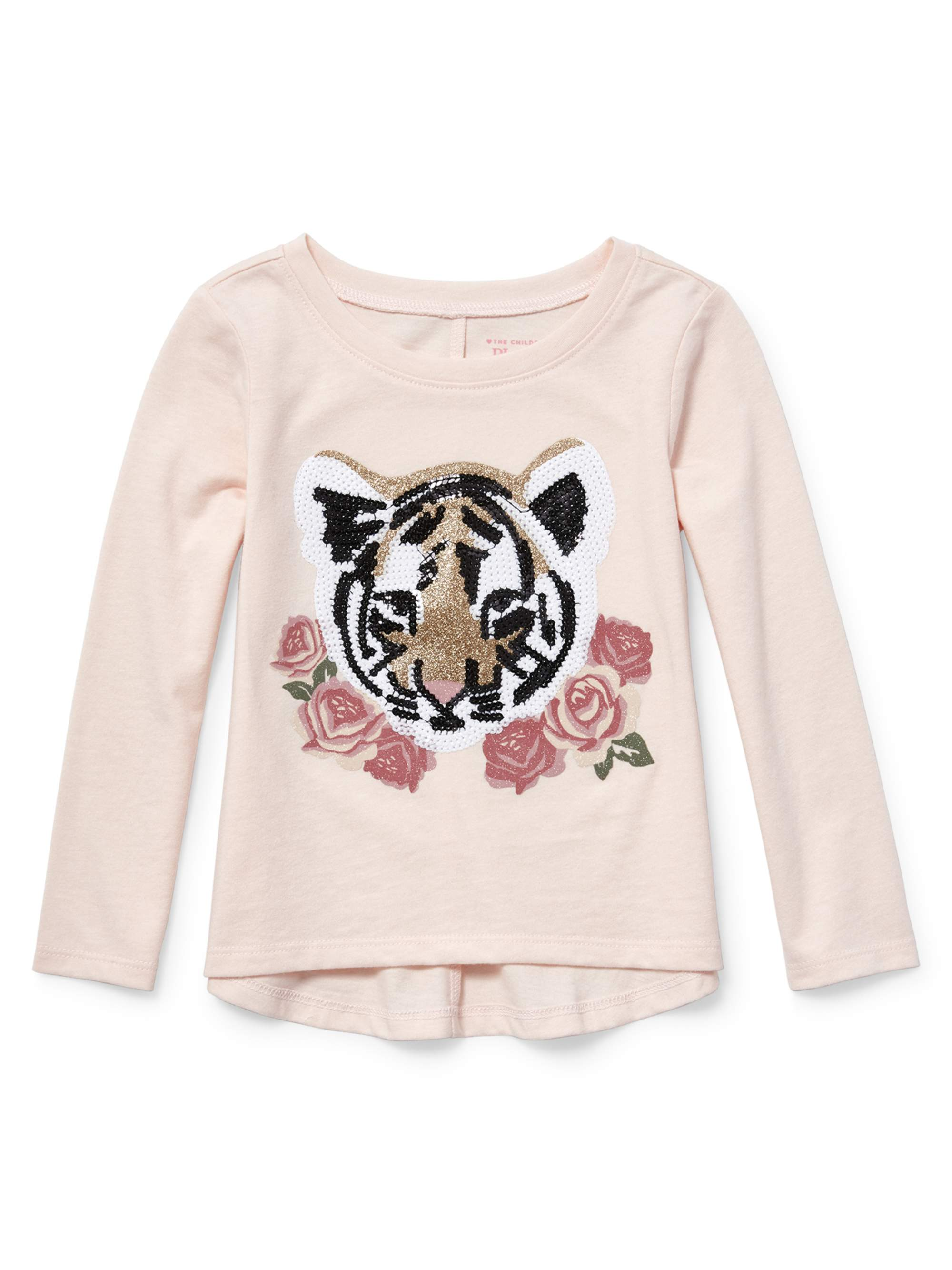 Baby And Toddler Girls Long Sleeve Back Seam Top