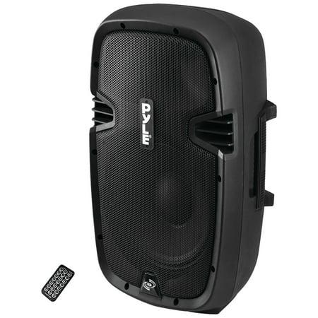 Pyle Pro PPHP1537UB Bluetooth Loudspeaker PA Cabinet Speaker (Electrostatic Loudspeaker)