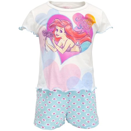 Little Mermaid - Pretty Heart Toddler Shirt And Shorts Set](Ariel Outfit)