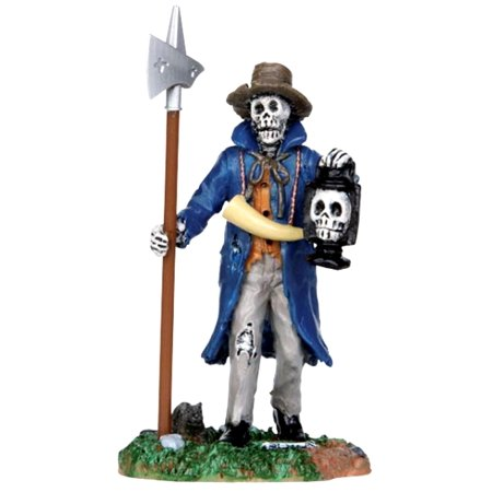 Lemax 32108 CREEPY NIGHT WATCHMAN Spooky Town Figure Halloween Decor Figurine](Date For Halloween Night)
