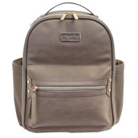 Itzy Ritzy Mini Backpack Diaper Bag, Taupe