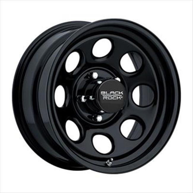 Cragar 997785045 997 Type 8 Matte Black Wheels 17 x 8 In.