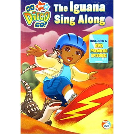 Go Diego Go: The Iguana Sing Along (DVD) (Go Diego)