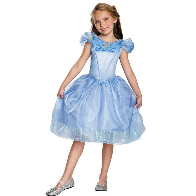 Morris Costumes DG87057L Cinderella Movie Classic Costume, Size 4-6
