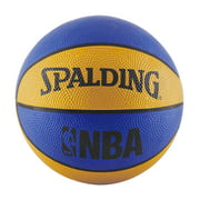 "Spalding NBA Mini 22"" Basketball - Blue/Orange"