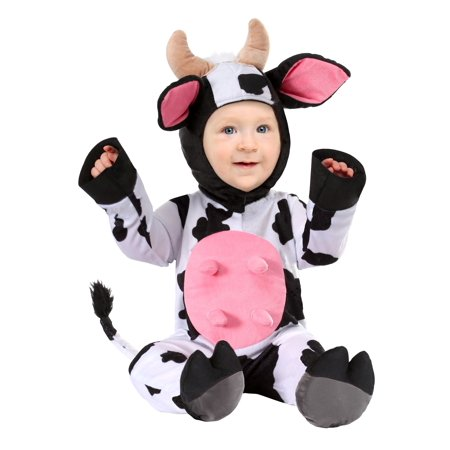 Infant Happy Cow Costume](Infant White Rabbit Costume)