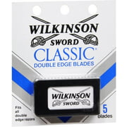 Wilkinson Sword Classic Double Edge Blades, 5 ea