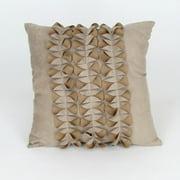 "Wayborn Suede Decorative Pillow  18"" x 18"" in Beige"