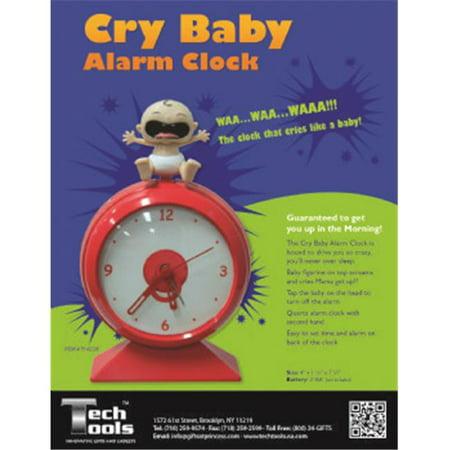 Baby Clock - Princess International PI-6228 Cry Baby Alarm Clock