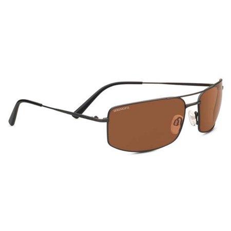 Serengeti Classic Sunglasses - Serengeti 8695 Sunglasses Classic Metal TrevisoSatin Dark GunmetalDrivers