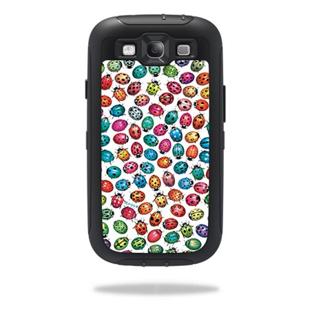 Skin For OtterBox Defender Samsung Galaxy S III S3 Case – Color Bugs | MightySkins Protective, Durable, and Unique Vinyl Decal wrap cover | Easy To Apply, Remove, and Change Styles | Made in the (Easy Way To Remove Bugs From Car)