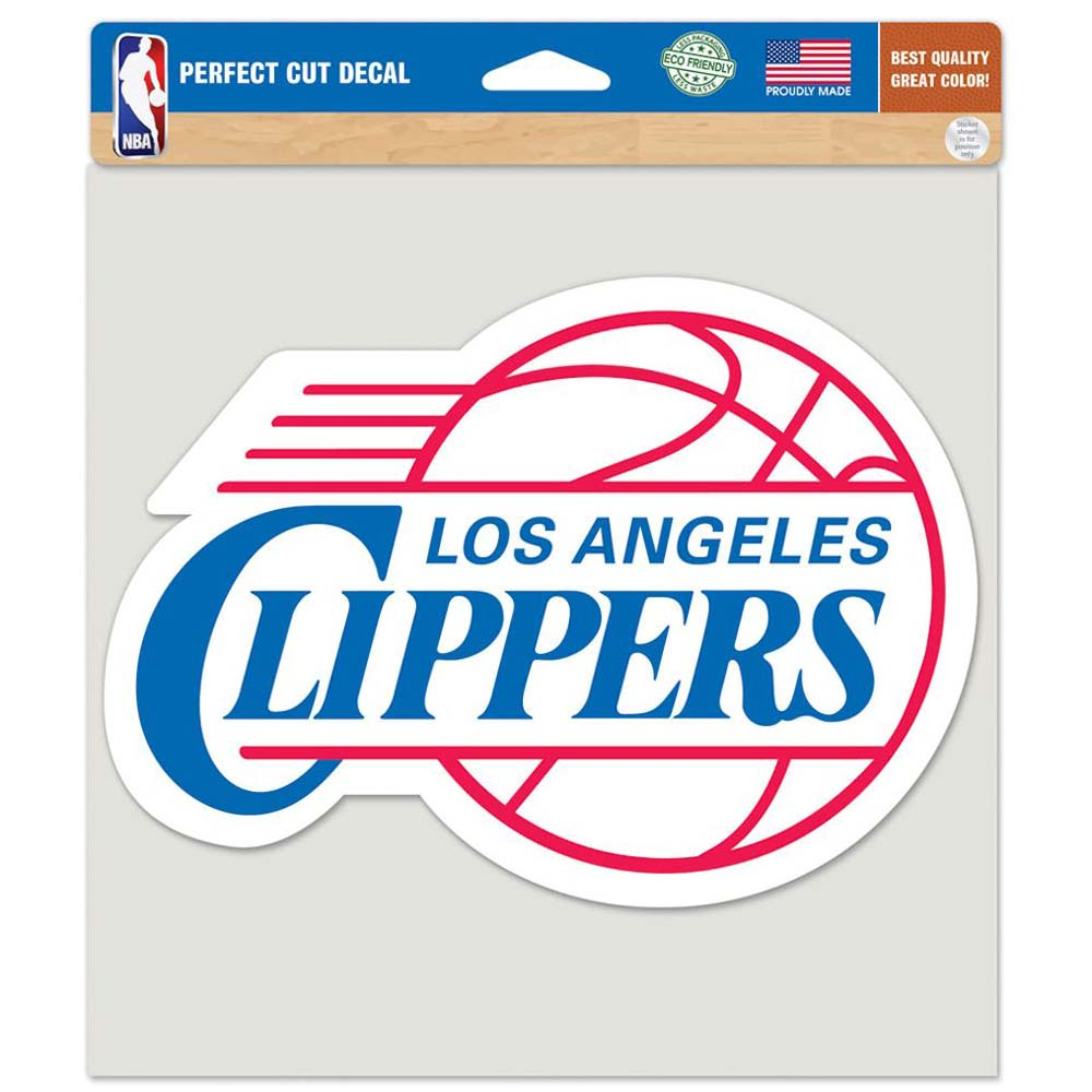 "Los Angeles Clippers Die-cut Decal - 8""x8"" Color"
