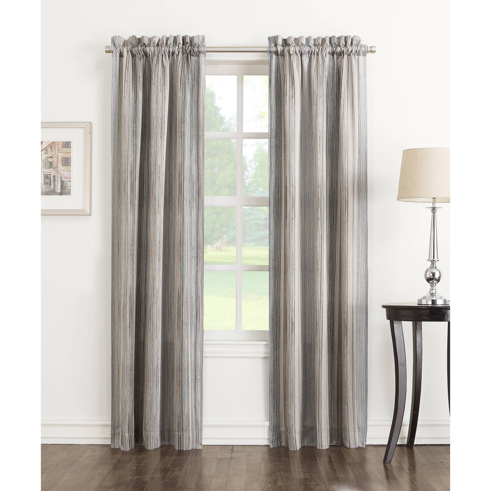 No 918 Lane Room Darkening Curtain Panels Set Of 2 Stone