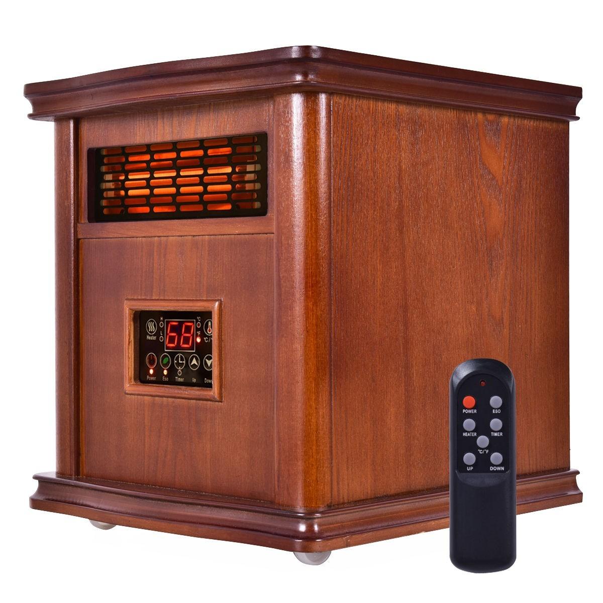 1800 sq. ft 1500 w Portable Remote Heater