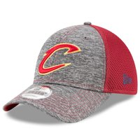 Cleveland Cavaliers New Era Shadow Turn 9FORTY Adjustable Hat - Heathered Gray/Wine - OSFA