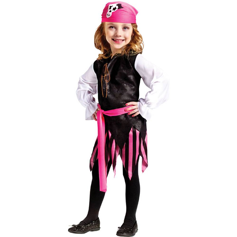 Caribbean Pirate Girl Toddler Costume by Fun World