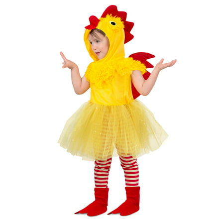 Toddler Princess Chicken Suit Costume](Animal Suit Costumes)
