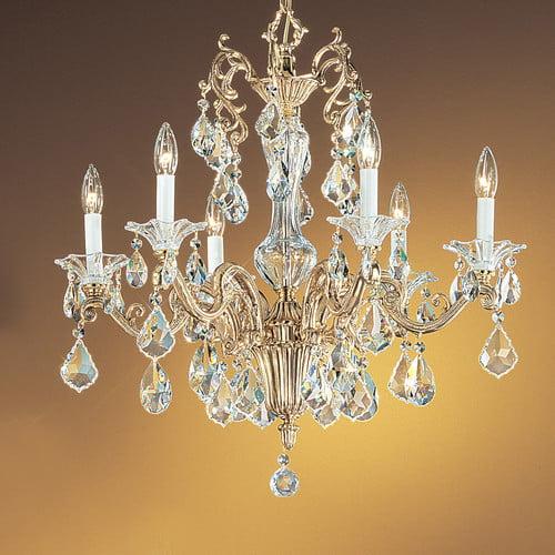 Classic Lighting Via Firenze 6 Light Chandelier