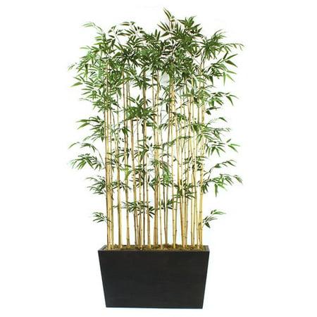 Dalmarko Designs Bamboo Floor Plant In Planter Walmart Com