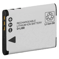 Top Brand D-LI88 Rechargeable Lithium-Ion Replacement Battery for Pentax