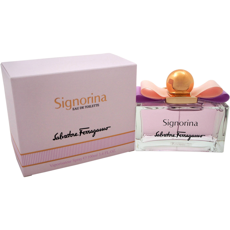 Salvatore Ferragamo Signorina for Women Eau de Toilette Spray, 3.4 fl oz