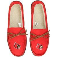Louisville Cardinals Big Logo Moccasin Slippers