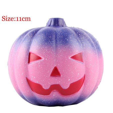 Slow Rising Jumbo Giant Galaxy Scented Pumpkin Squishies Squishy Halloween Toy - Best Squishy Websites