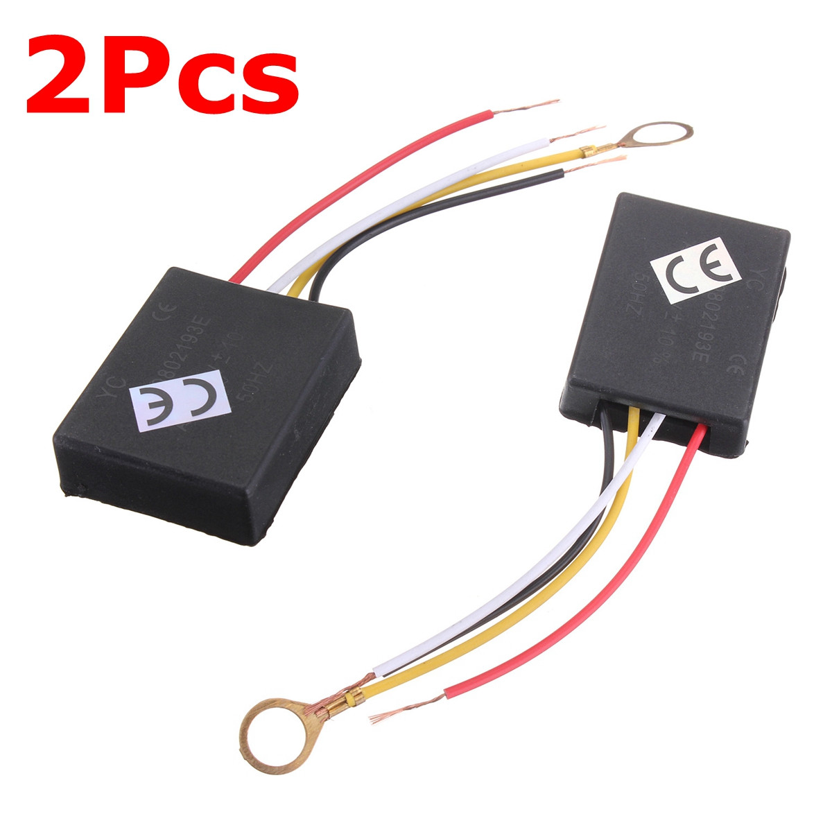 2Pcs 3 Way 110/220V Table Desk Light Lamp Touch Switch Control Sensor Dimmer 2Pcs Repair for Bulbs