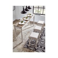 Deals on Signature Design by Ashley Skempton Dining Table Set of 4