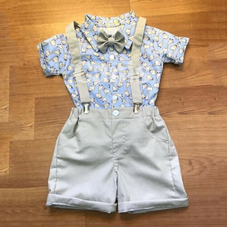 Toddler Kid Baby Boy Summer Cartoon Tops T-shirt Pants Shorts Outfits Clothes