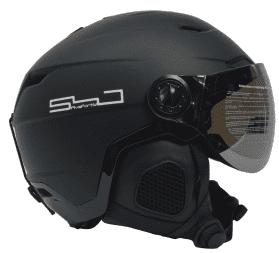 ADULT 540 APOLLO SKI SNOWBOARD HELMET LARGE 58-60CM SHINY /& MATTE BLACK
