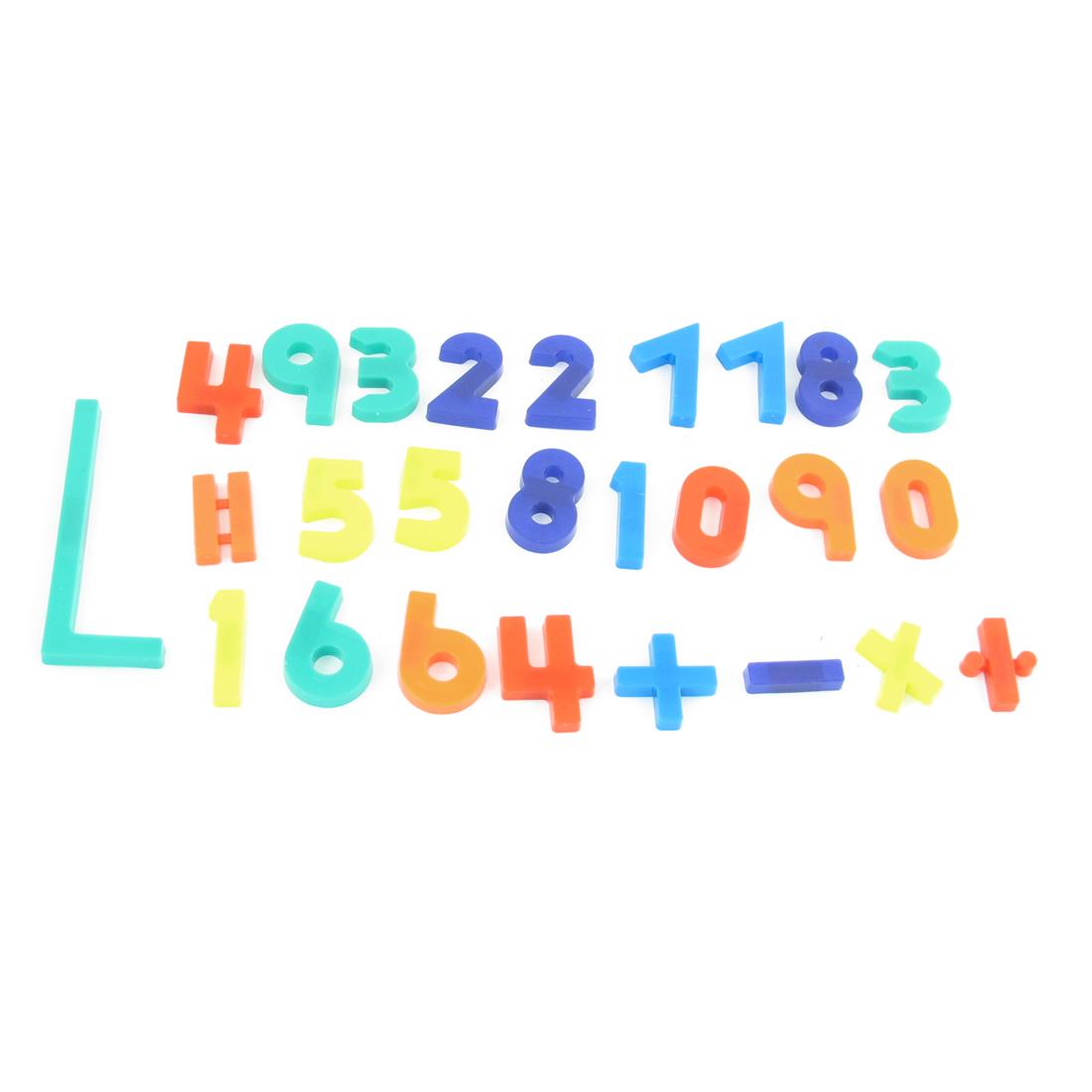 Kids Arabic Number Fridge Refrigerator Magnets Sticker Ornament 27 Pcs