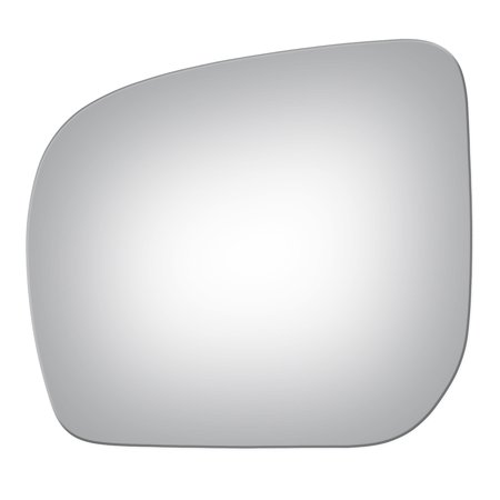 For 2009-13 Subaru Forester Driver Side Drop Fit Flat Door Mirror Glass Lens (Subaru Forester Driver Mirror)