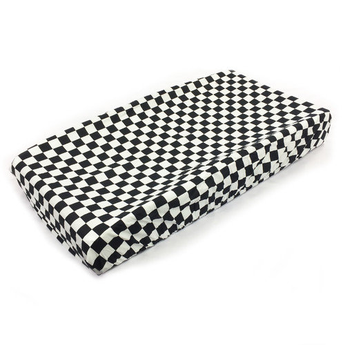 One Grace Place Teyo's Tires - Changing Checkers Pad Cover