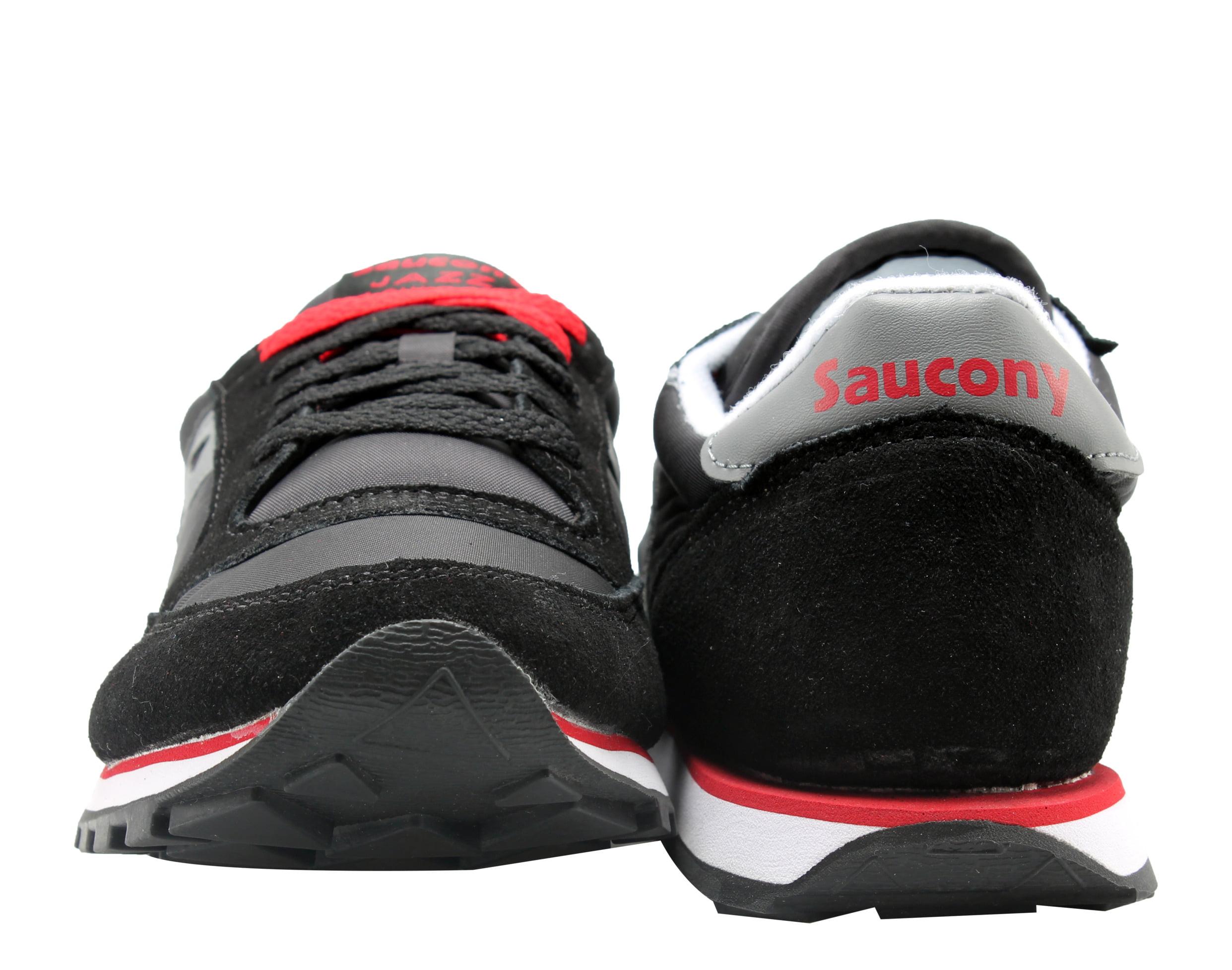 Saucony Jazz Low Pro Black/Grey/Red Men's Running Shoes 2866-7