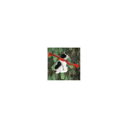 Jack Russell Terrier Miniature Dog Ornament - Black & - Jack Miniature