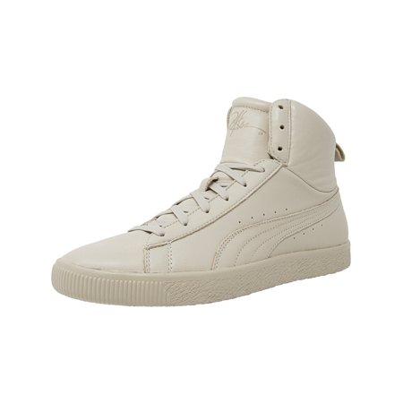 PUMA - Puma Men s Clyde Mid Y And R Doeskin Ankle-High Leather Fashion  Sneaker - 12M - Walmart.com 869f307b2